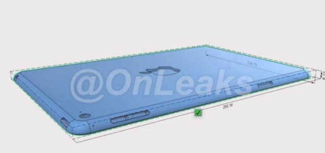 iPad mini 4 的厚度只有6.1毫米