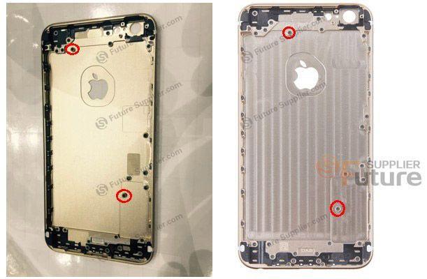 iPhone 6S 泄露出来的外壳显示苹果增强了其抗压性